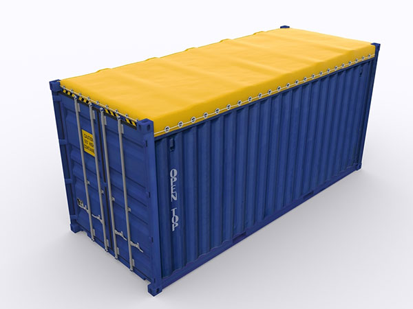 The 40 Open Top Container Specifications
