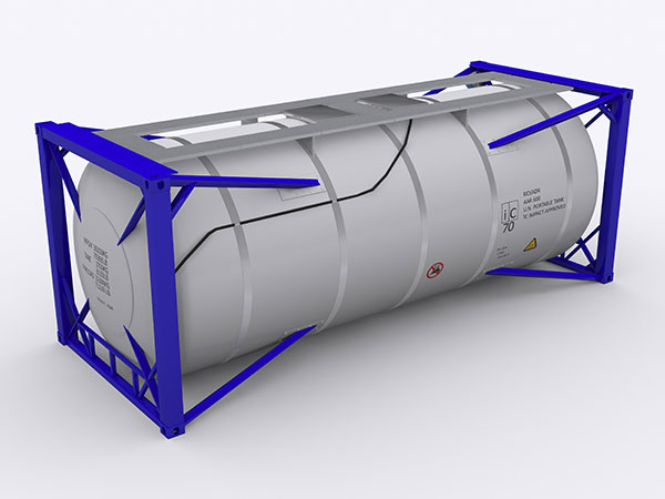 The 20-foot Tank Container Specifications